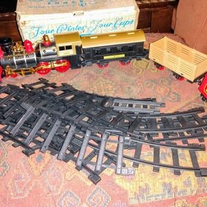 Vintage Electric Toy Train 🚝Western Express